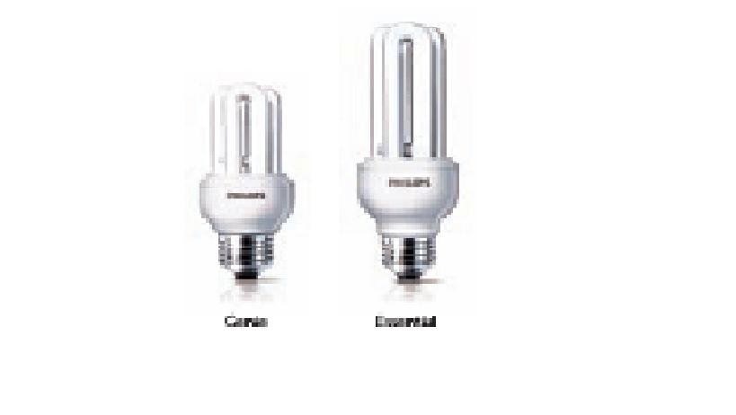 Bóng đèn tiết kiệm điện Essential/Genie - PHILIPS