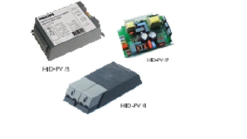 Ballast điện tử đèn cao áp HID-Prima Vision - PHILIPS