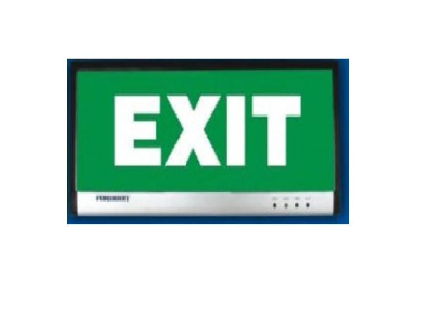 Đèn thoát hiểm 1 mặt bóng LED Paragon - PEXA13SW (EM 601)