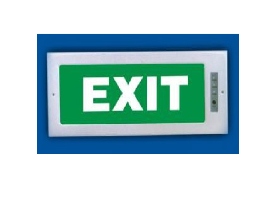 Đèn thoát hiểm 1 mặt bóng LED Paragon - PEXA13RW (ET 201)