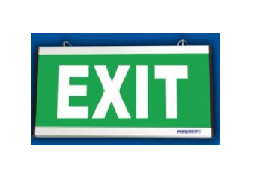 Đèn thoát hiểm 2 mặt - PEXF23SC (NEW)