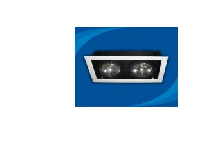 Đèn rọi âm trần bóng halogen - OLB250MR111 (DLK1189)