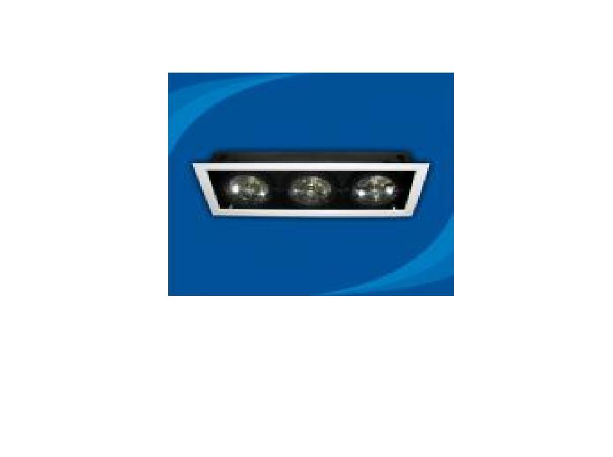 Đèn rọi âm trần bóng halogen - OLB350MR111 (DLK1190)