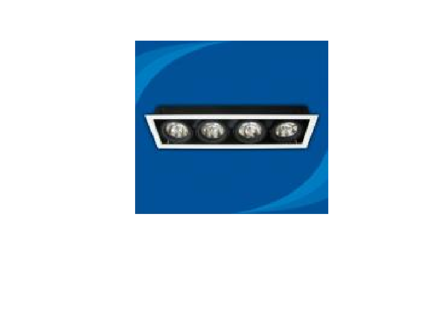 Đèn rọi âm trần bóng halogen - OLB450MR111 (DLK1191)