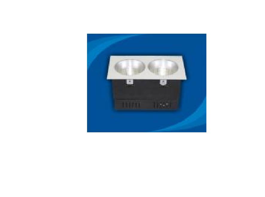 Đèn rọi âm trần bóng compact E27 - OLM215E27 (DLK1209)
