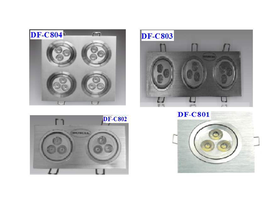 LED Downlight DF-C801/802/803/804