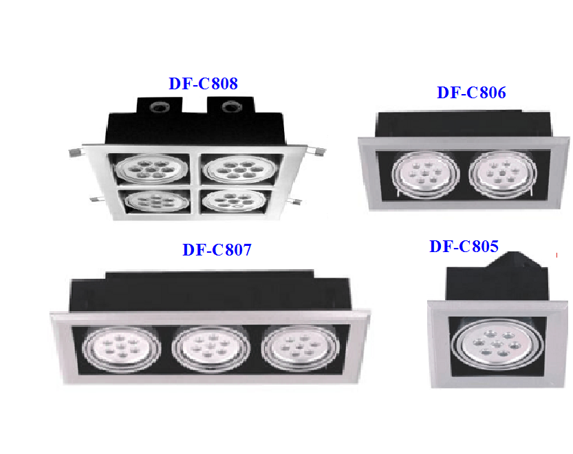 LED Downlight DF-C805/806/807/808