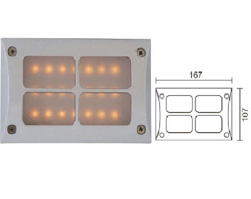 Đèn LED chiếu vách DK-A002