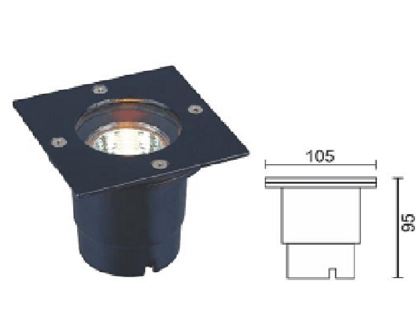 Đèn LED âm sàn DL-A004
