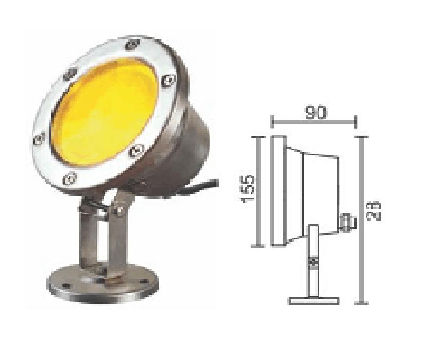 Đèn LED âm nước DM-
