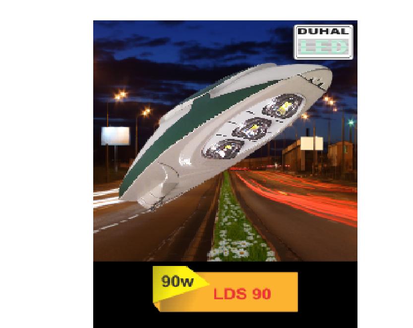 Đèn đường LED LDS 90