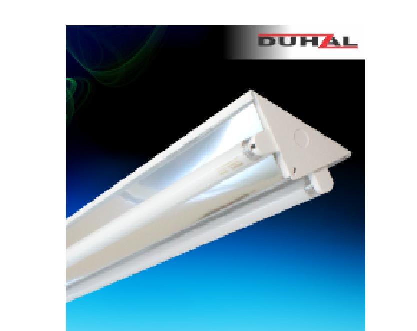 Đèn công nghiệp chữ V chóa phản quang - DDK
