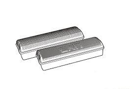 Đèn dẫn lối, loại chống thấm Seri AC/DC502