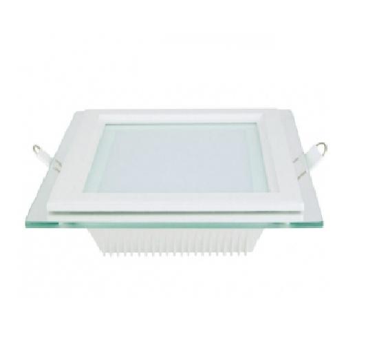 Đèn LED âm trần siêu mỏng có mặt kính (dạng vuông) - CD216