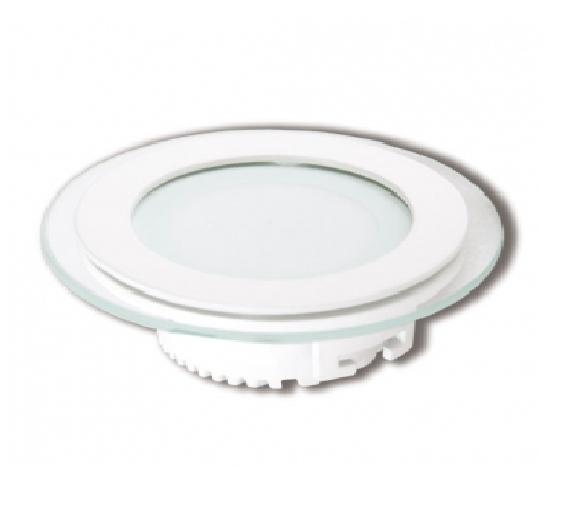 Đèn LED âm trần siêu mỏng có kính (dạng tròn) - CD116