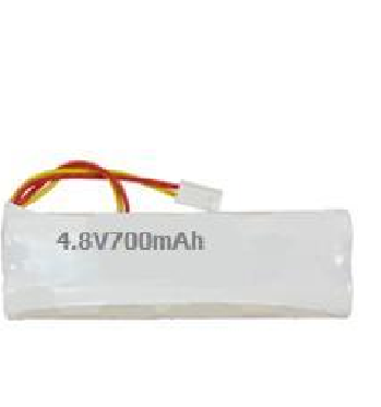 Pin đèn Exit Big Beam 4,8V - 700mAh