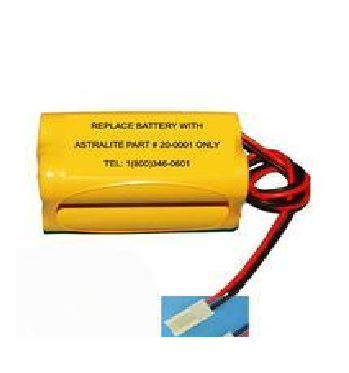 Pin đèn Exit Astralite 20-0001 Battery for Emergency Lighting & Exit Signs 4,8V