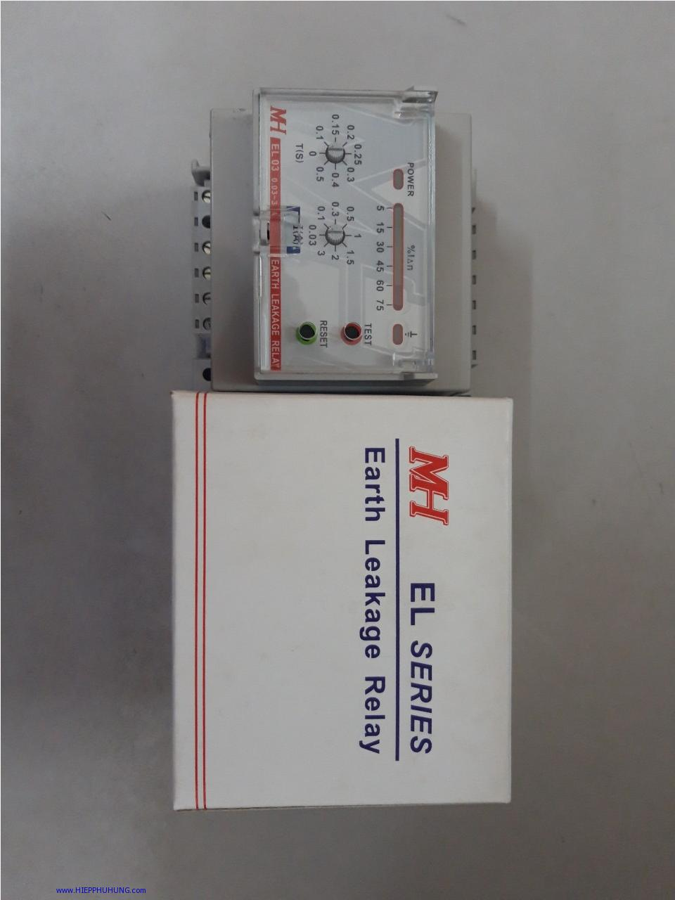 Rơ le dòng rò MH EL03